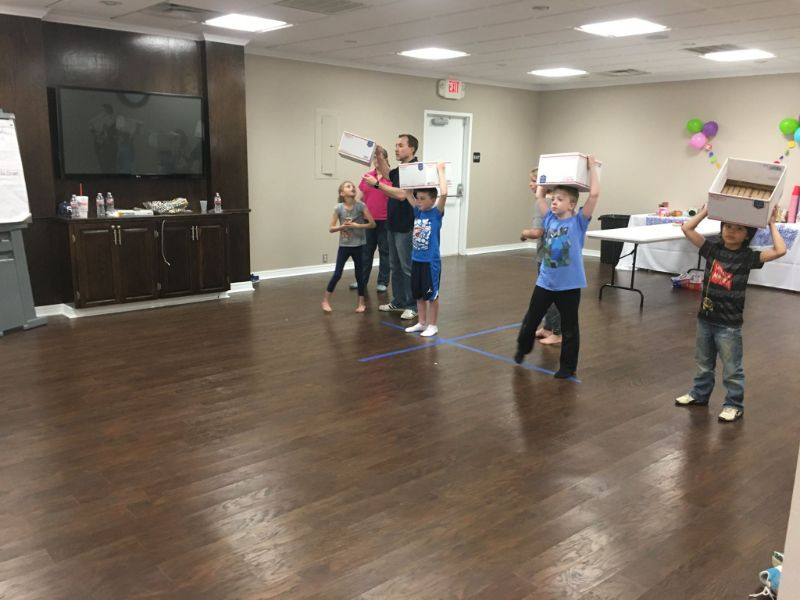 unit d kids birthday party games